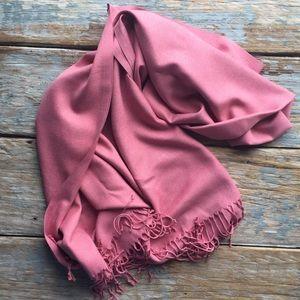 Oversized Cashmere Silk Scarf/Wrap